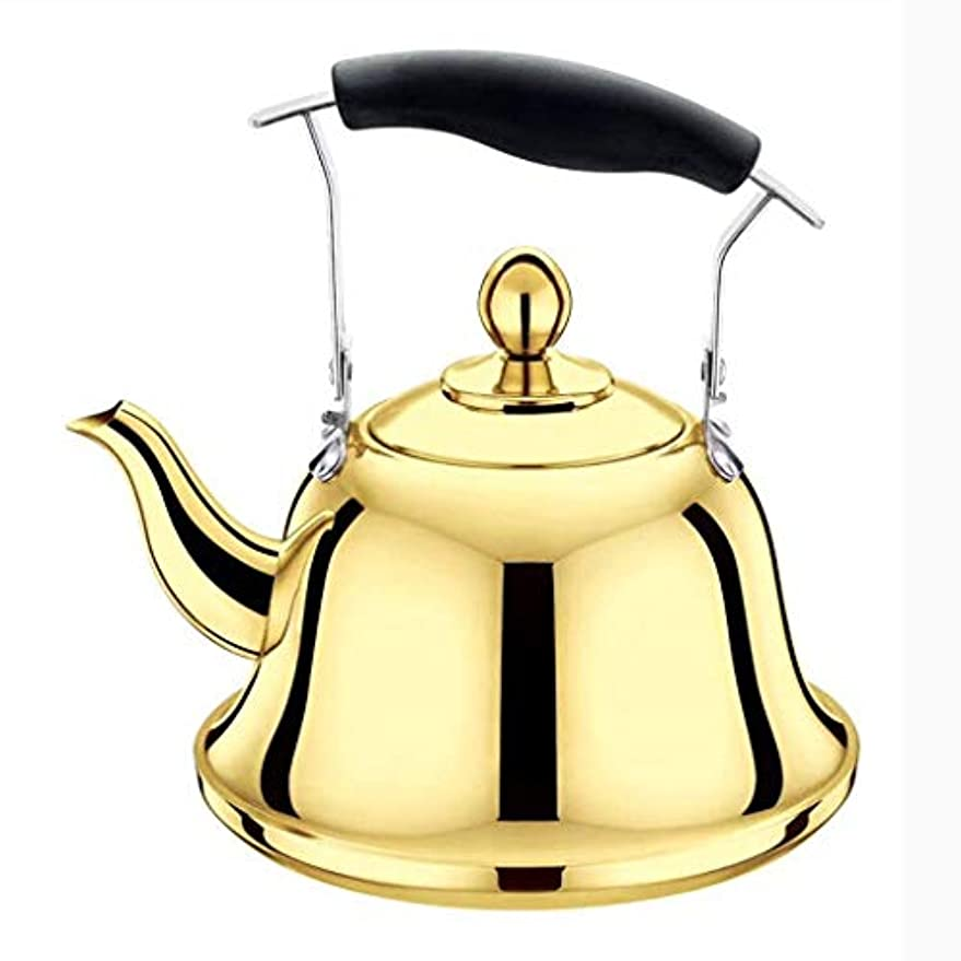 短命絶滅させるに対応するLEOO ステンレス鋼茶コーヒーやかん、コーヒーを注ぐための薄い注ぎ口、ガスで動作します、電気、急速加熱用誘導コンロ (サイズ さいず : 2L)
