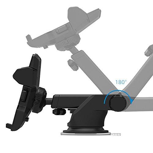 SmartTap オートホールド式 車載ホルダー EasyOneTouch2 ( 伸縮アーム 粘着ゲル吸盤 ) HLCRIO121