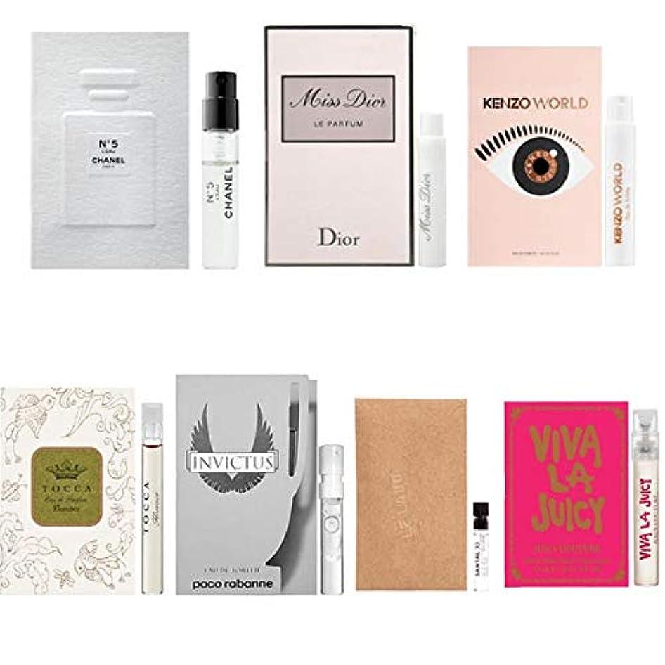 ステープル壊滅的な雑品女性用 Eau de Parfum/Eau de Toilette, for Women Samples 7/set [海外直送品] [並行輸入品]