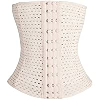 SUPVOX Waist Tummy Slimming Breathable Shapewear Shaper Corset Girdle - Size XXL (Skin Color)