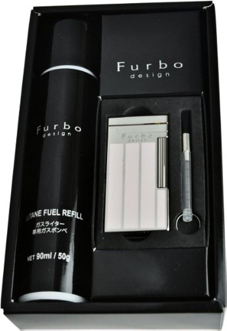 光泥棒蒸し器Furbo Design 【フルボデザイン】 フリント式ライターFD100-14 ギフトボックスセット ダイアナシルバー/ポリッシュ/格子ピンクエポ