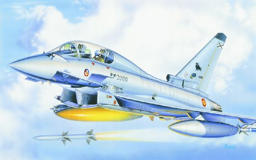 イタレリ 099 1/72 ユーロファイター複座型