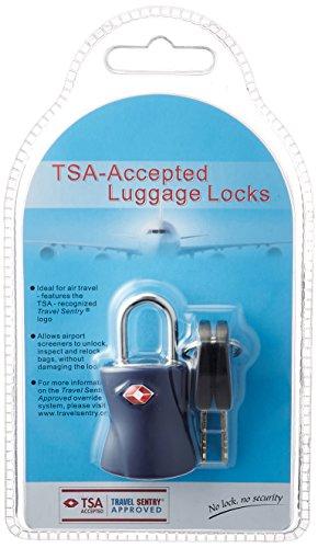 [シフレ] 南京錠 TSAロック 鍵 スーツケース シリンダー錠 5.5cm kg SIF7039 ブルー ブルー