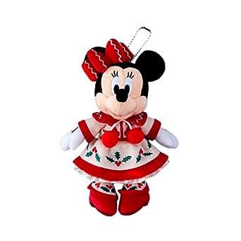 ディズニー クリスマス・ファンタジー 2015 ミニー ぬいぐるみバッジ ( 東京 ディズニーランド限定 グッズ お土産 )
