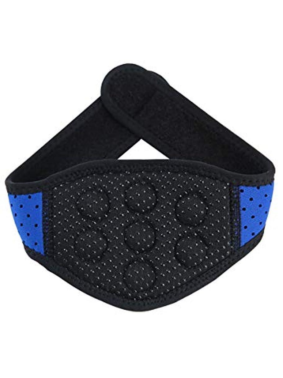 部族収入こだわり体を温めて首の頚椎の首を保護して保温して熱をつけて磁気療法の磁気治療の頸の頸椎の首を持って首の骨を持って大人の快適な男の人の家庭用です [並行輸入品]