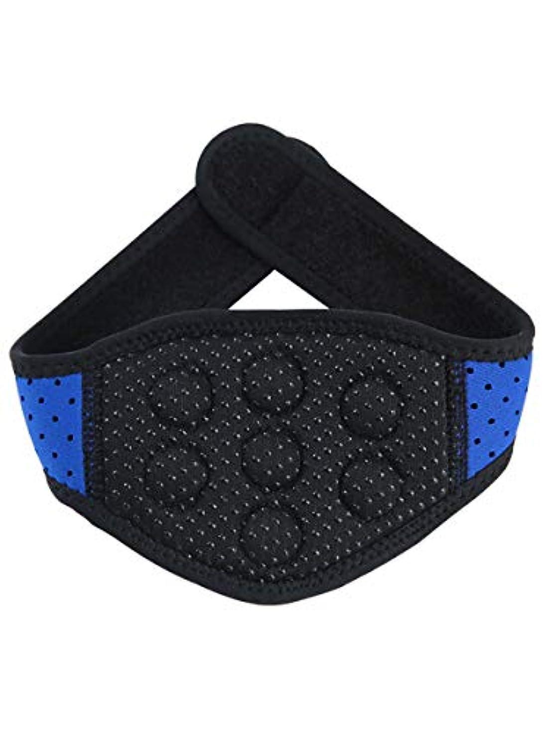 特殊翻訳検閲体を温めて首の頚椎の首を保護して保温して熱をつけて磁気療法の磁気治療の頸の頸椎の首を持って首の骨を持って大人の快適な男の人の家庭用です [並行輸入品]