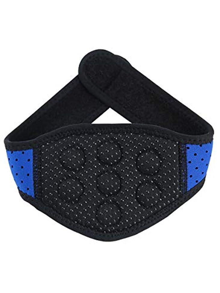 トリプル承認二層体を温めて首の頚椎の首を保護して保温して熱をつけて磁気療法の磁気治療の頸の頸椎の首を持って首の骨を持って大人の快適な男の人の家庭用です [並行輸入品]