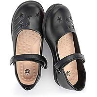 Hawkwell Girl's Strap School Uniform Dress Shoe Mary Jane Flat (Toddler/Little Kid)