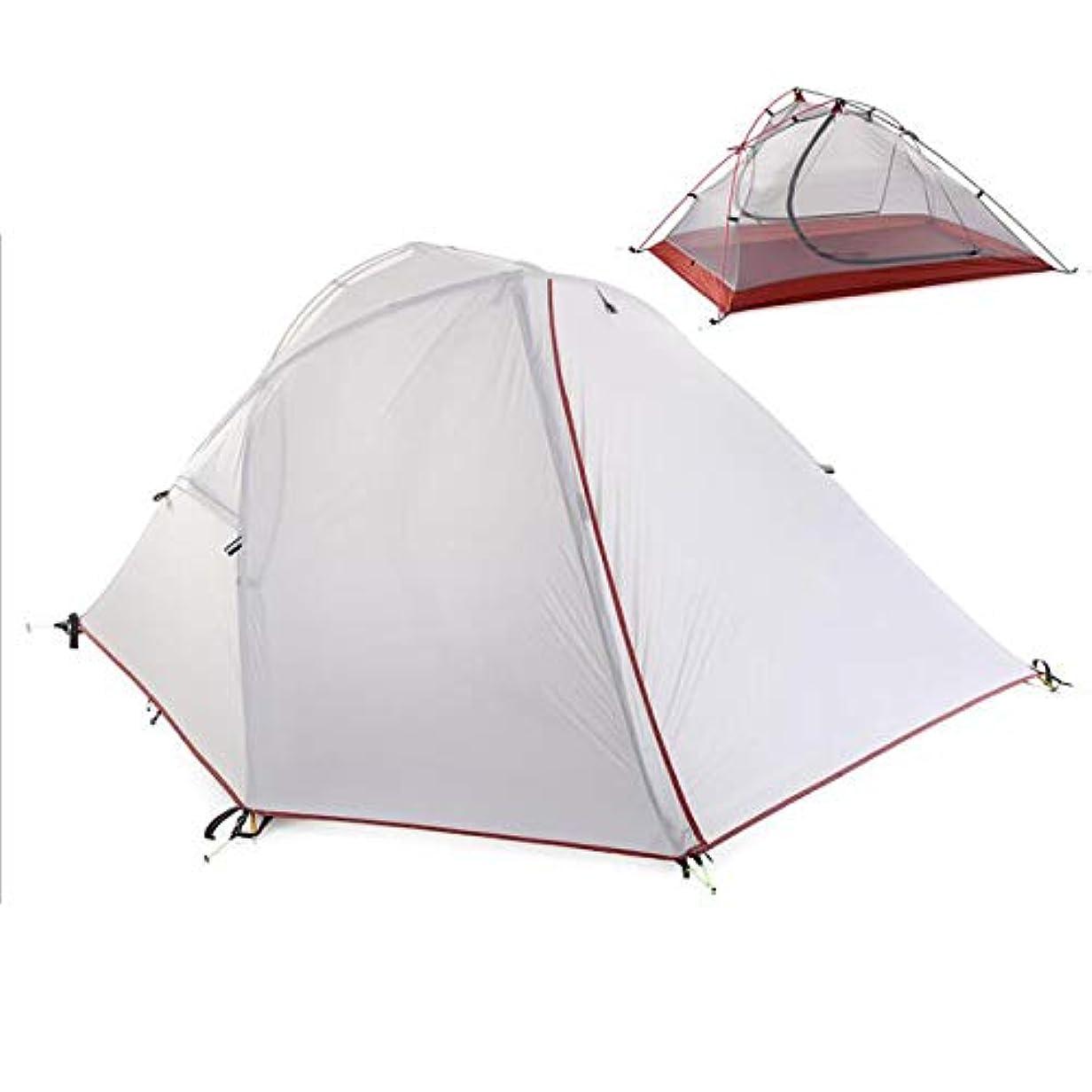 アルコール限られたモディッシュThree Seasons屋外テント、シングルキャンプ登山ダブル防風と防雨テント