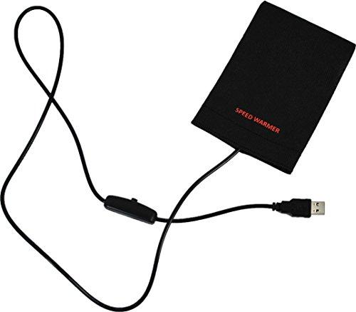 使い捨てしない電子カイロ スピードウォーマー/極薄0.1mmのフィルムヒーター