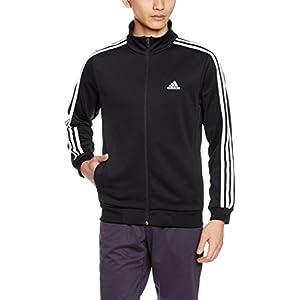 (アディダス)adidas トレーニングウェア ESSENTIALS 3ストライプス ジャージ DJP56 [メンズ] BR1135 ブラック/ホワイト J/L