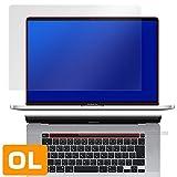 防指紋 防気泡 反射防止液晶保護フィルム MacBook Pro 16インチモデル Touch Barシートつき 用 日本製 OverLay Plus OLMBP16TB/1