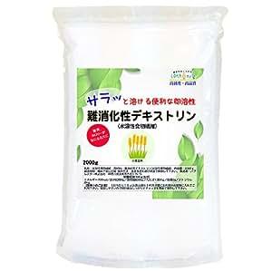 難消化性デキストリン (サラッと溶ける便利な即溶顆粒タイプ) 2kg