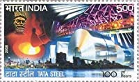 100 Years of Tata Steel , Event , Rs 5 Indian Stamp