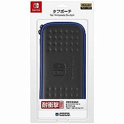 【Nintendo Switch対応】タフポーチ for Nintendo Switch ブラック×ブルー