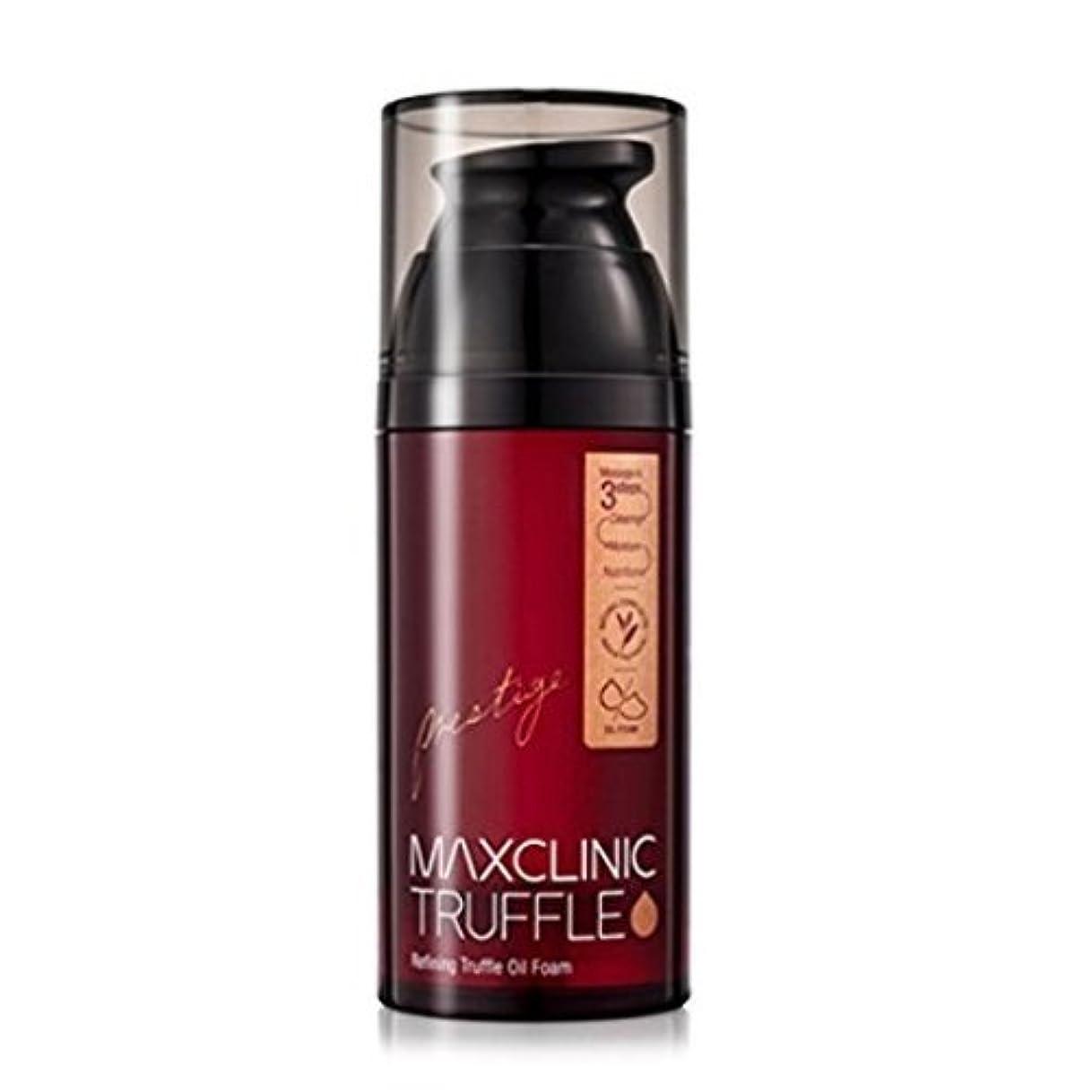 バルブ丈夫スクラップマックスクリニック[韓国コスメMaxclinic]Refining Truffle Reversal Oil Foam リフティングトリュフオイルフォームクレンザー110ml[並行輸入品]