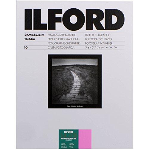 ILFORD 白黒印画紙 MGFB CLASSIC 1K 11X14 大四切 10枚 1172038