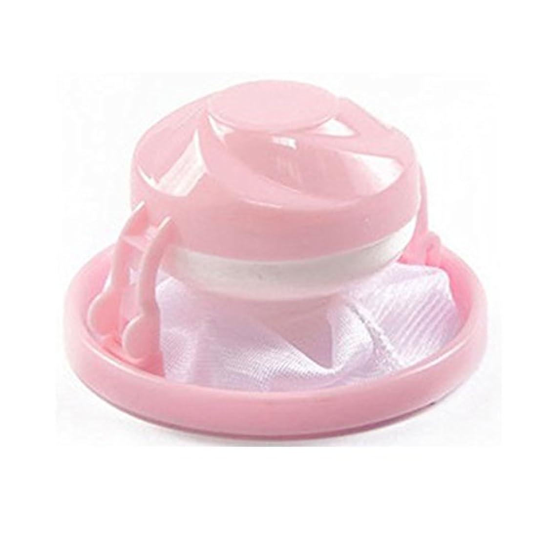 タイムリーなキャンドルマイルストーン洗濯機脱毛器クリーンフィルター(ピンク)