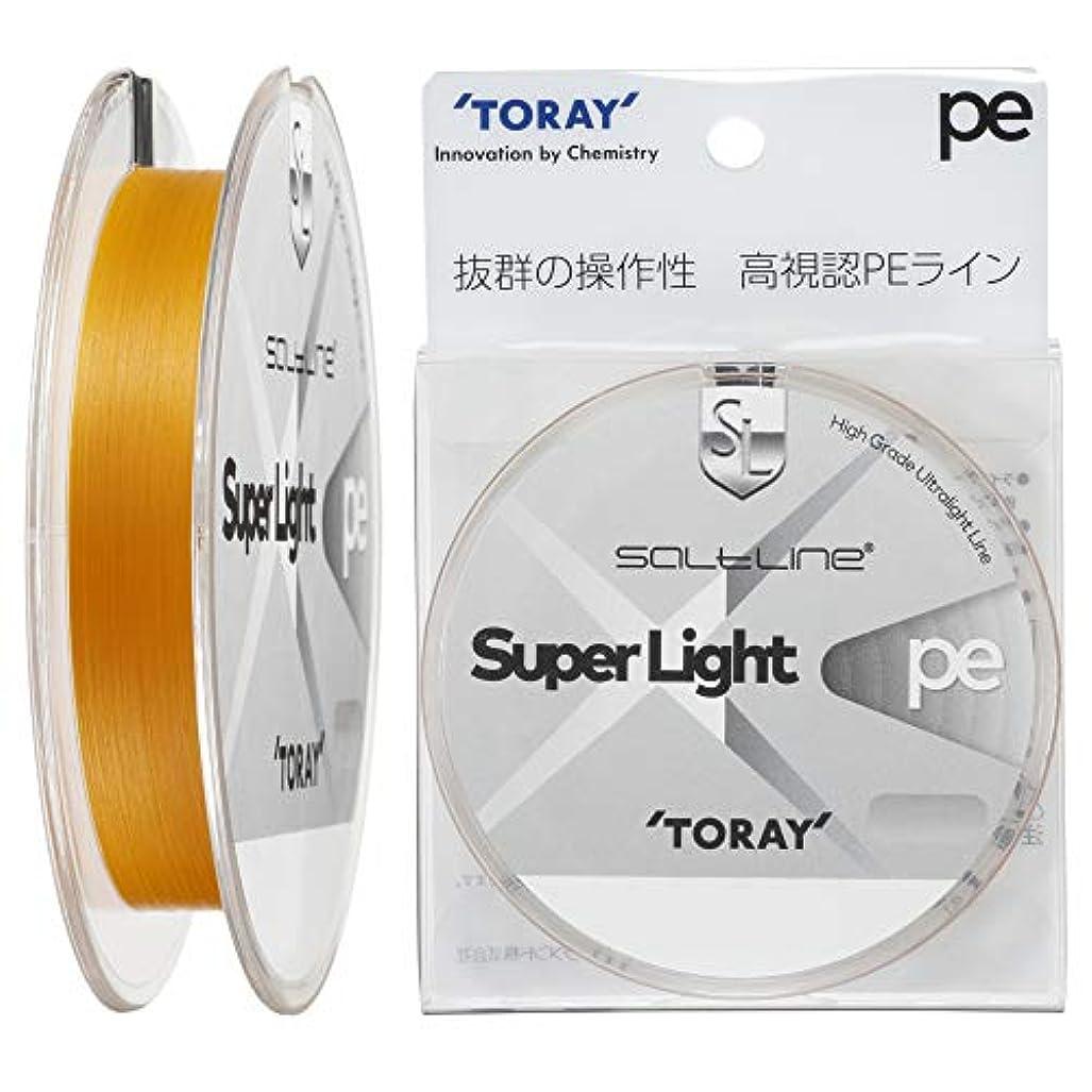 不屈見捨てられたマルクス主義東レ(TORAY) ライン ソルトライン スーパーライト PE 150m 0.3号 6.0lb.