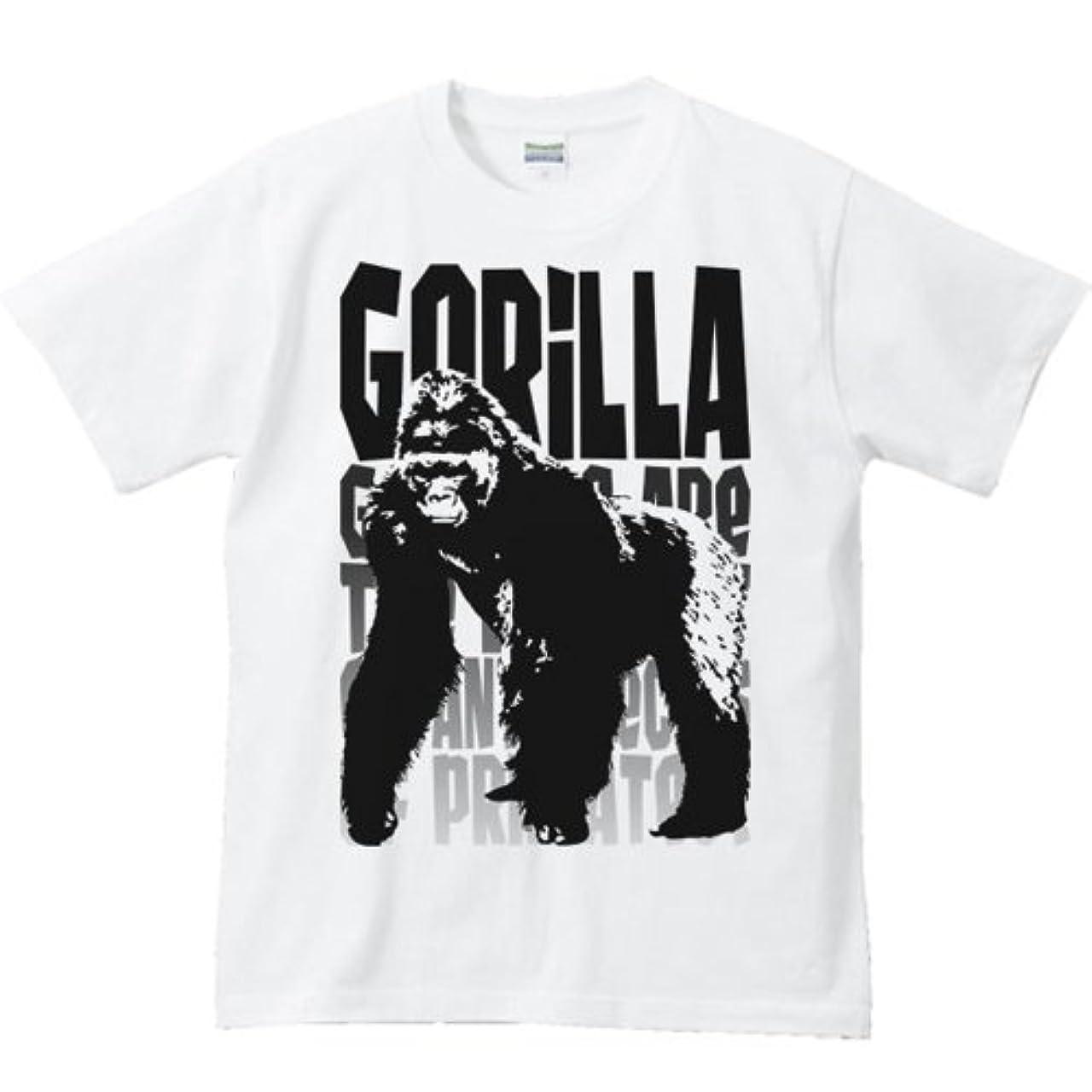 対人前方へコアエムワイディエス(MYDS) モノトーン ゴリラ/半袖Tシャツ