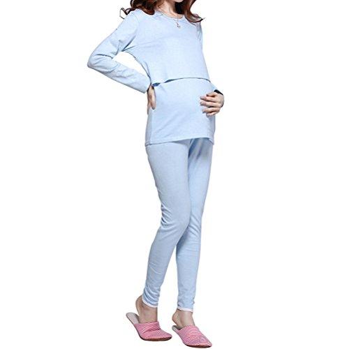 Linyuan Pajamas Suit Maternity