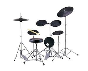 MAXTONE トレーニングドラムセット 1シンバルモデル ドラム椅子 スティック付属 TD-5DX