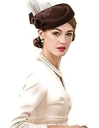 ブラウントーク帽 礼装帽子 トークハット ヘッドドレス