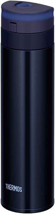 サーモス 水筒 真空断熱ケータイマグ 【ワンタッチオープンタイプ】 450ml ブラック JNS-450 BK