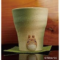 となりのトトロ 信楽焼フリーカップ 緑