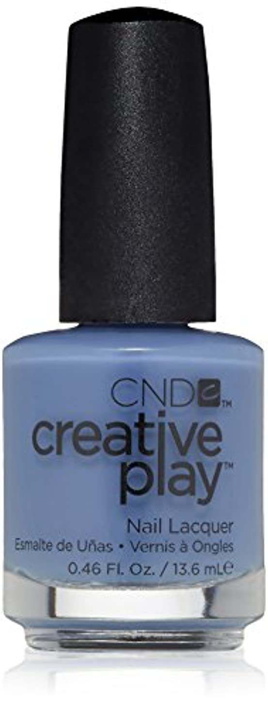 進捗合意ホテルCND Creative Play Lacquer - Steel the Show - 0.46oz / 13.6ml
