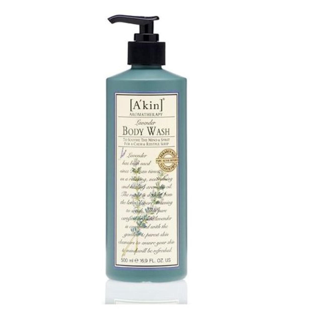 グローバルとストレージA'kin Lavender Body Wash 500ml by A'kin