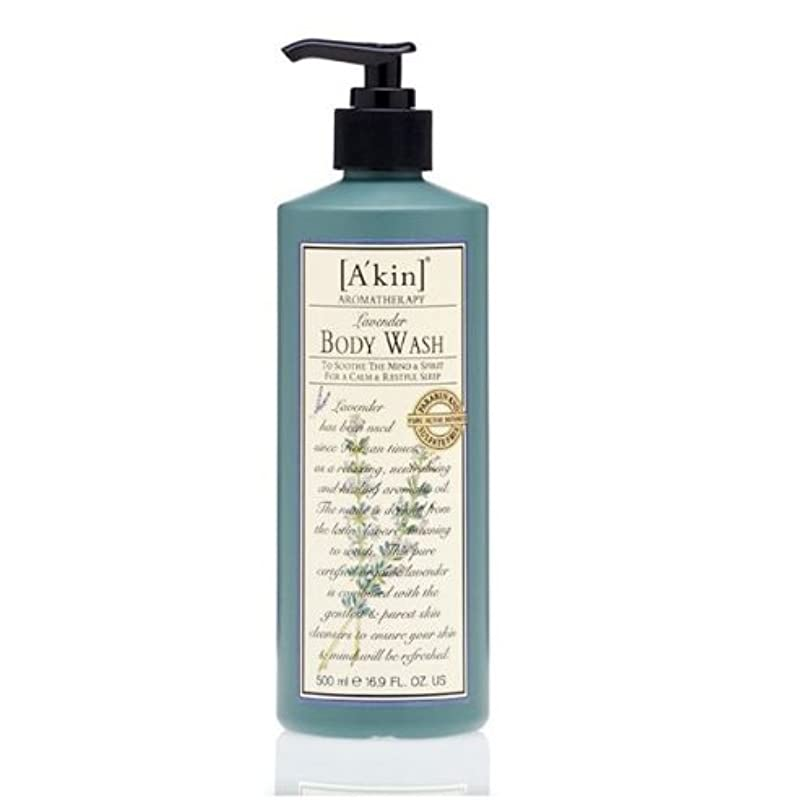 オプション脅威行くA'kin Lavender Body Wash 500ml by A'kin