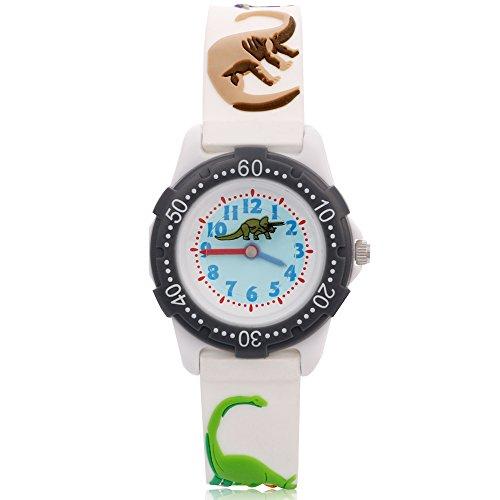 [ARIALK] キッズ 腕時計 子供 用 恐竜 ウォッチ ボーイズ 男の子 男子 小学生 アナログ 卒園 入学祝い