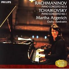 アルゲリッチ独奏 ラフマニノフ:ピアノ協奏曲第3番 &チャイコフスキー:ピアノ協奏曲第1番の商品写真