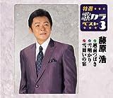 特選・歌カラベスト3 越前つばき/雪明かり/雪舞いの宿