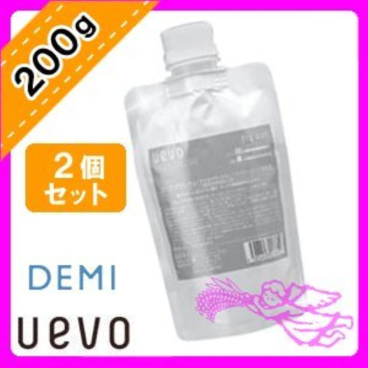 ご近所コール石鹸デミ ウェーボ デザインキューブ ドライワックス 200g×2個セット 業務用 demi uevo