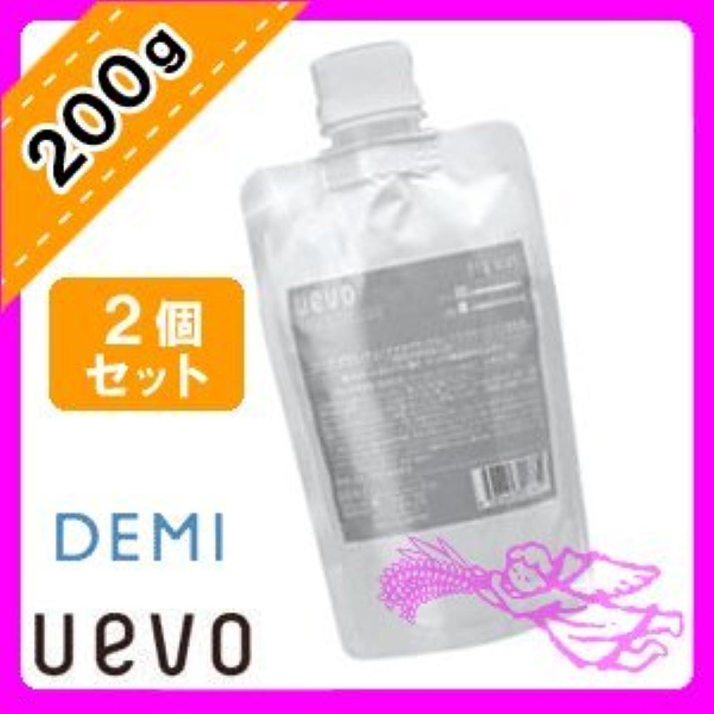 体操選手浴室彼女はデミ ウェーボ デザインキューブ ドライワックス 200g×2個セット 業務用 demi uevo