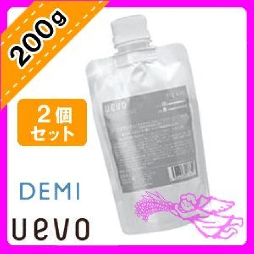 範囲構成員規範デミ ウェーボ デザインキューブ ドライワックス 200g×2個セット 業務用 demi uevo
