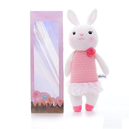 欧米で大人気 Metoo (ミートゥー) キュートすぎる ぬいぐるみ Tiramitu(ティラミス)バニー ウサギ おもちゃ 12 インチ (ピンク)