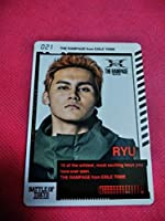 BATTLE OF TOKYO ENTER THE Jr.EXILE 龍 THE RAMPAGE BOTカード