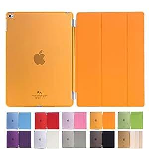 MS factory iPad Air 2 スマート カバー バック ケース オレンジ IPDA2-SSET-ORG