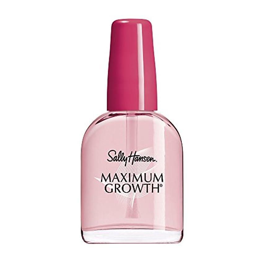 男らしさ庭園カバーSally Hansen Maximum Growth 13 ml (並行輸入品)