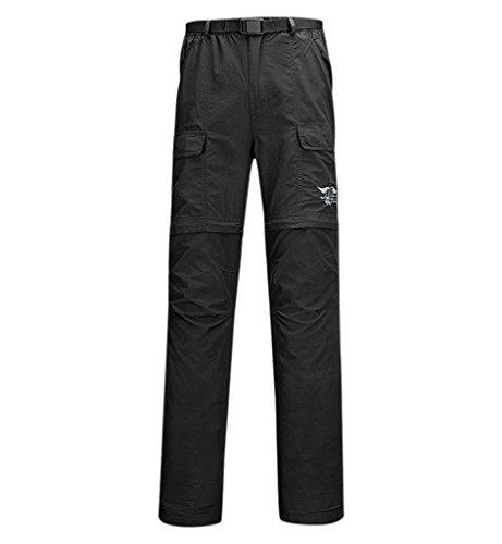 (ヒラロキ) Hilarocky メンズ トレッキングパンツ タクティカルパンツ 吸汗速乾パンツ ショートパンツ ロングパンツ コンバーチブルパンツ 2WAY 春夏