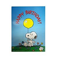 "SmartPractice歯科医"" Happy Birthday」面白いユーモアピーナッツスヌーピーGreeting Card"