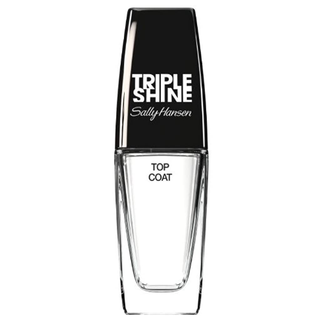 発生しない夫(3 Pack) SALLY HANSEN Triple Shine Top Coat - Triple Shine Top Coat (並行輸入品)