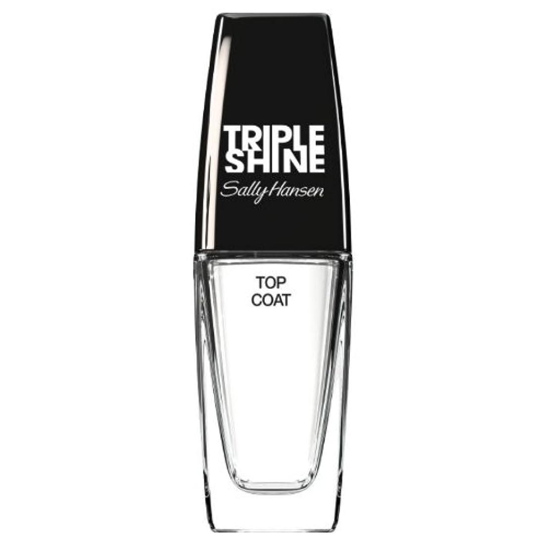 巡礼者化学紛争(6 Pack) SALLY HANSEN Triple Shine Top Coat - Triple Shine Top Coat (並行輸入品)