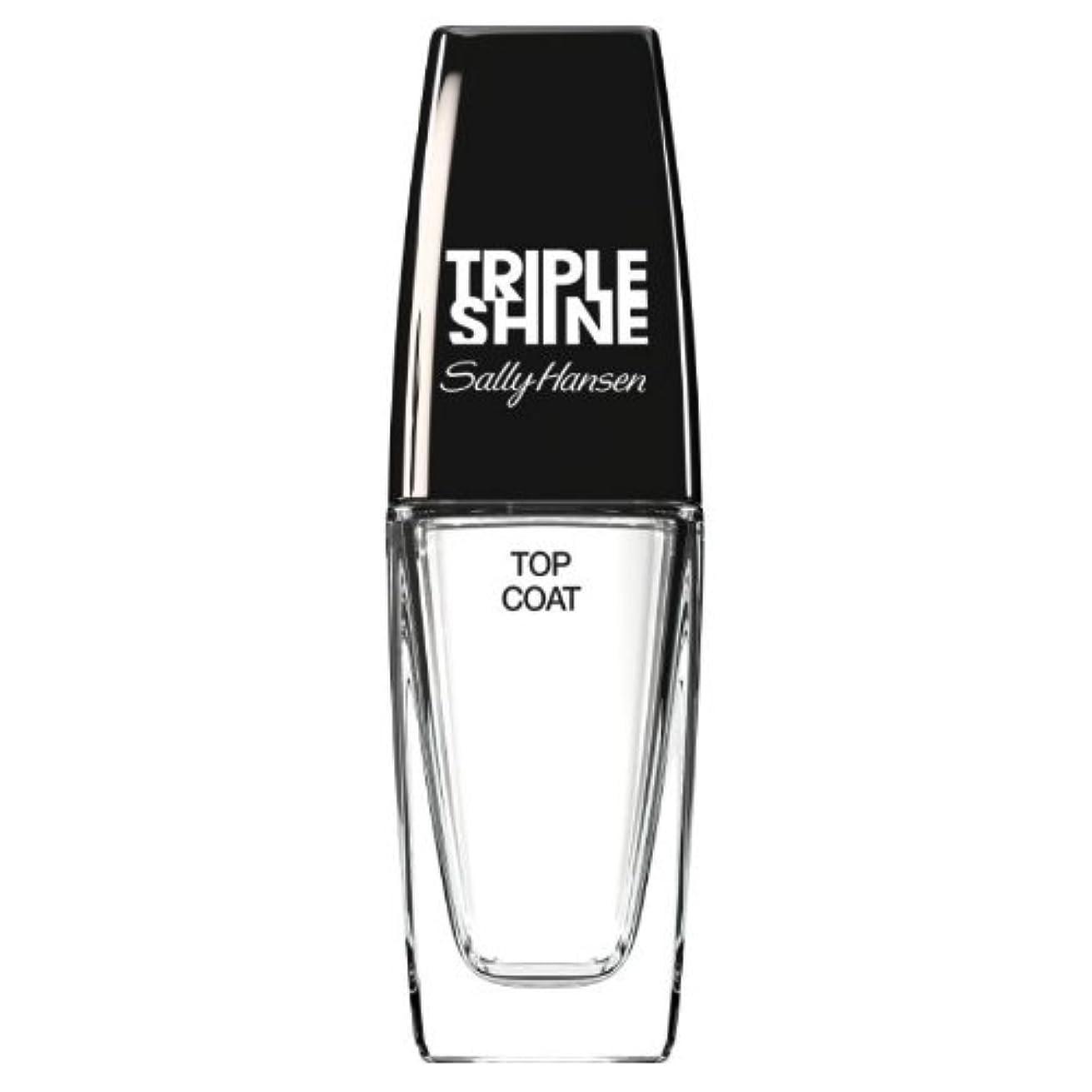 まあ事実そして(3 Pack) SALLY HANSEN Triple Shine Top Coat - Triple Shine Top Coat (並行輸入品)