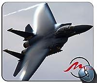 ZMvise F-5空軍背景ファッション漫画マウスパッドマットカスタム長方形ゲーミングマウスパッド