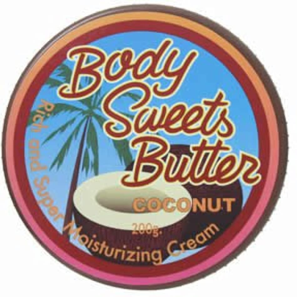 土砂降りニコチン怒っているミニード ボディスイーツバター ココナッツ 200g