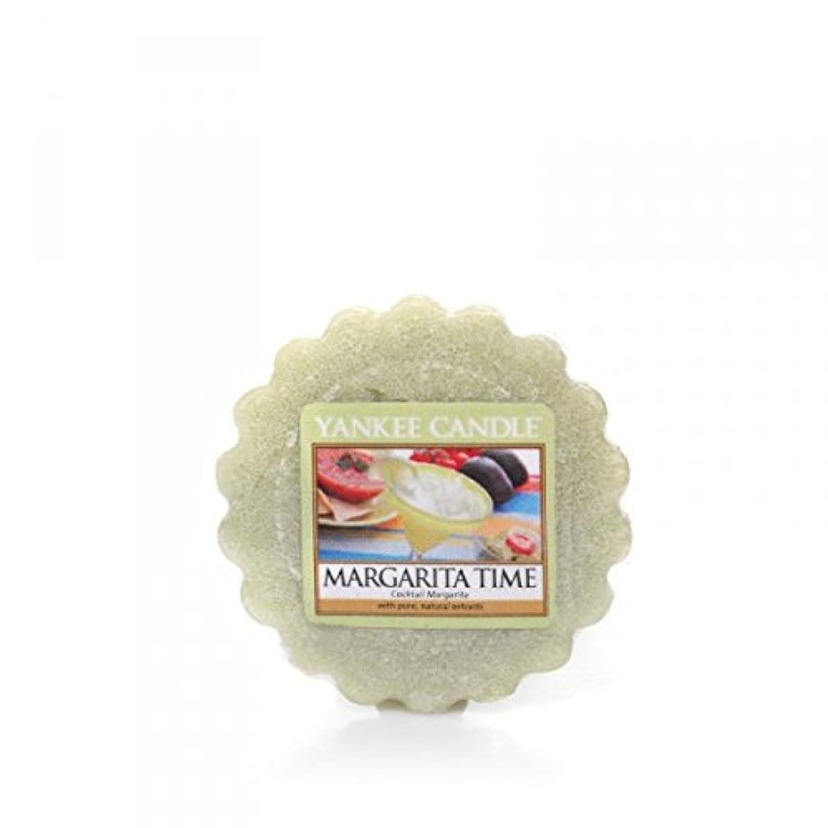 海外で十年印象的Yankee Candle Margarita時間、フルーツ香り Medium Perfect Pillar Candles グリーン 1286258E